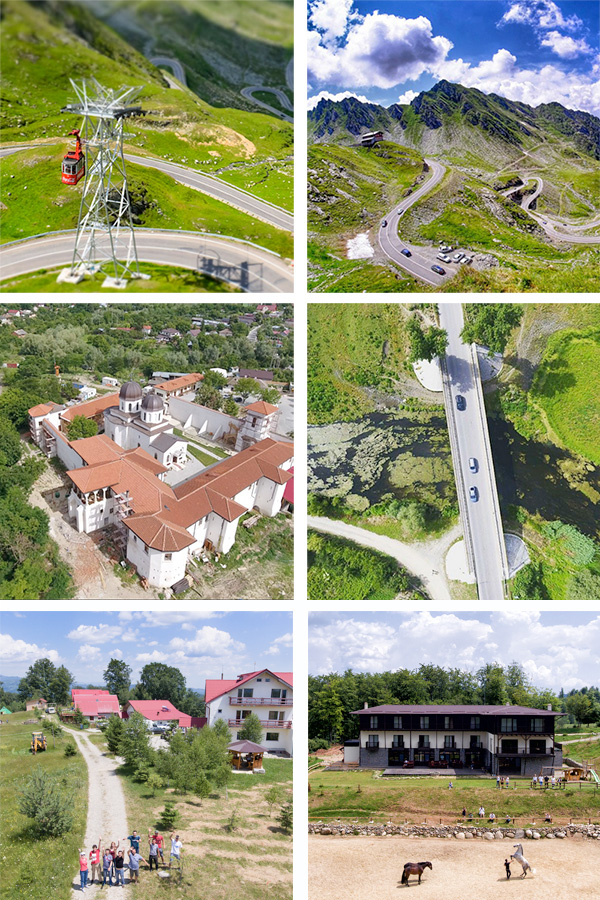 Fotografii aeriene din drona