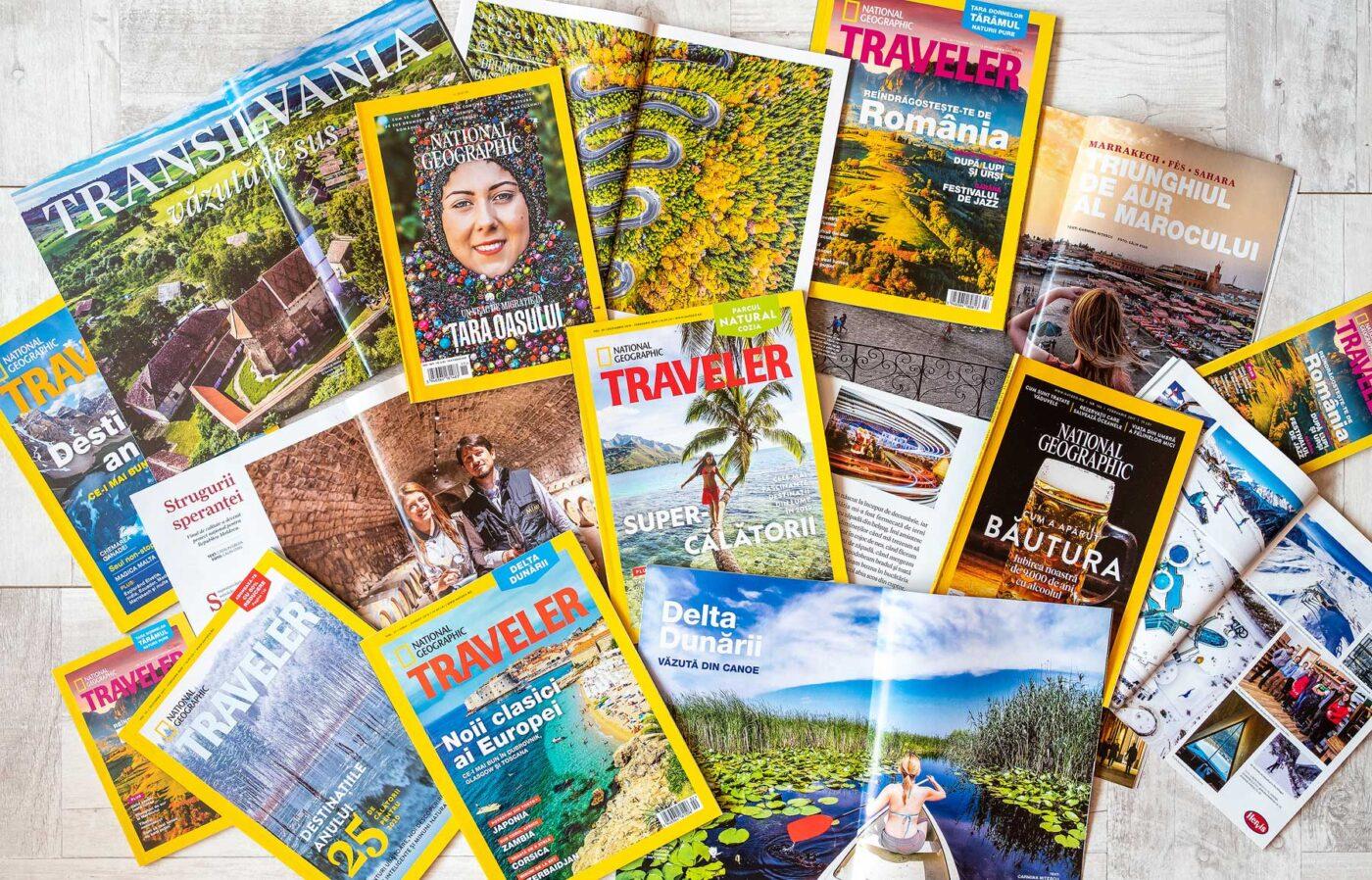 Aparitii media in National Geographic