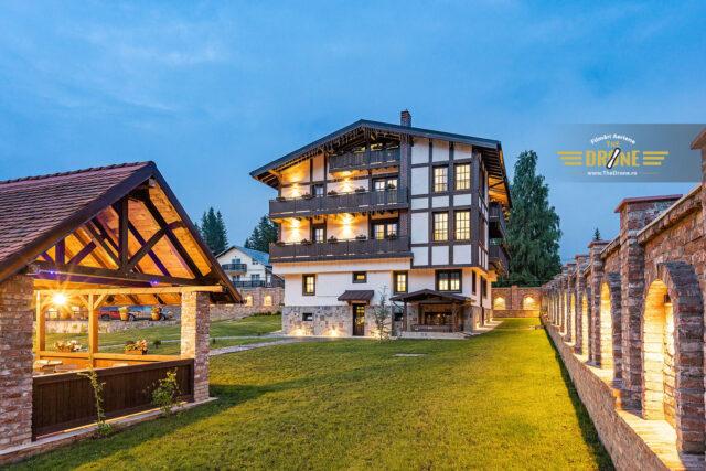 Fotografii pensiuni si hoteluri TheDrone.ro